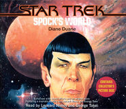 Spock's World audiobook cover, CD edition