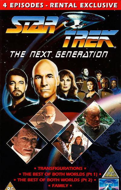 TNG Season 4 UK VHS
