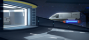 California class shuttlebay entrance