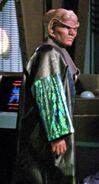 Farek's lab coat