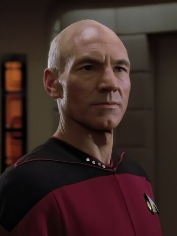 Jean-Luc Picard in 2364