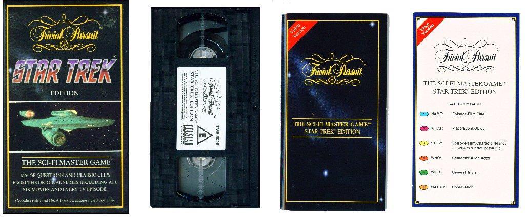 Trivial Pursuit - Star Trek Edition VCR Game