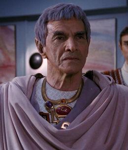 Посол Сарек в 2366 году