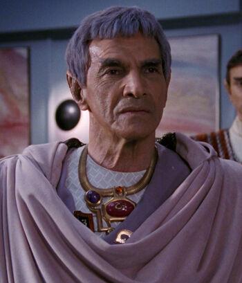 Ambassador Sarek in 2366