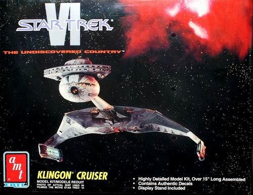 AMT Model kit 8229 Klingon Cruiser 1992.jpg