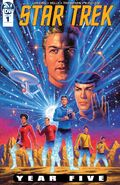 Star Trek Year Five issue 1 cover A
