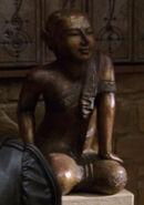 Vulcan monastery statue 2
