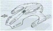 Nihydron warship, concept art