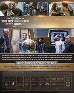 Star Trek Discovery Season 3 Blu-ray back cover
