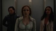 Sara, Brainy and Lois in the Earth-16 Arrowcave