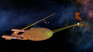 Federation-Klingon War of 2405-2410, Starship Duel