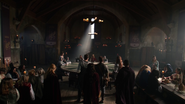 The Legends enter the court of Camelot