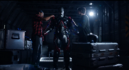 Ray and Behrad clean up the ATOM Exosuit on Waverider
