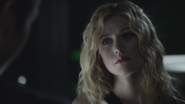 Mia Smoak from 2411 in an erased timeline