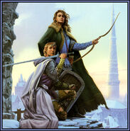 Michael whelan to green angel tower front