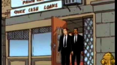 Men in black the series S3E10 - The Sardines and Ice Cream Syndrome