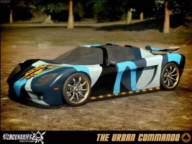 The Urban Commando