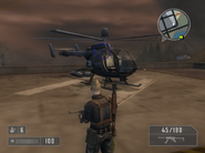 Gimme my money helicopter