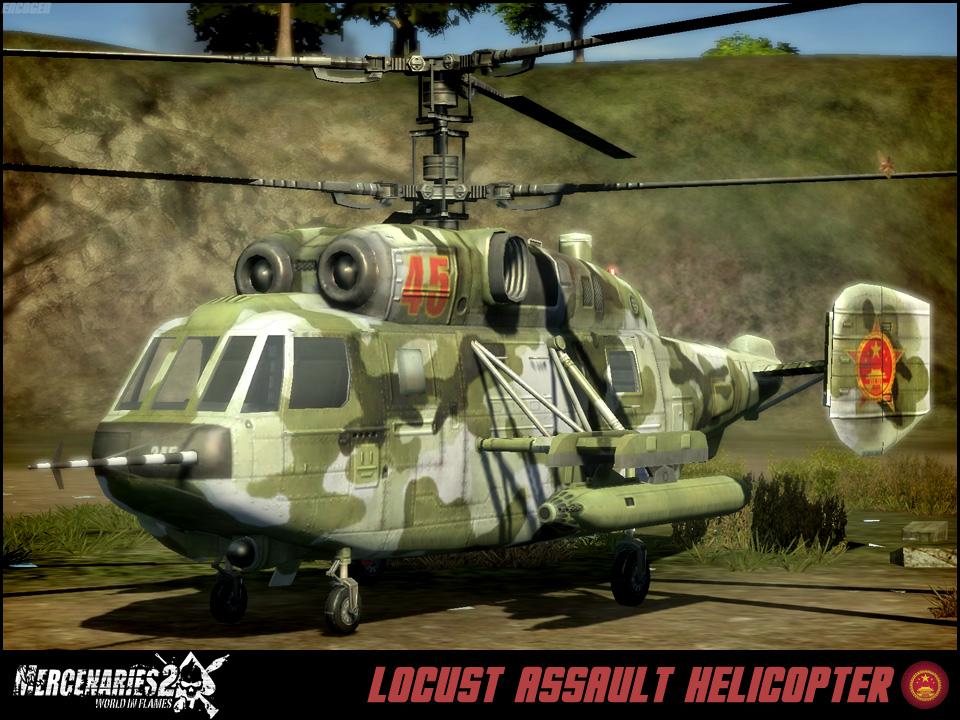 Locust Assault Helicopter