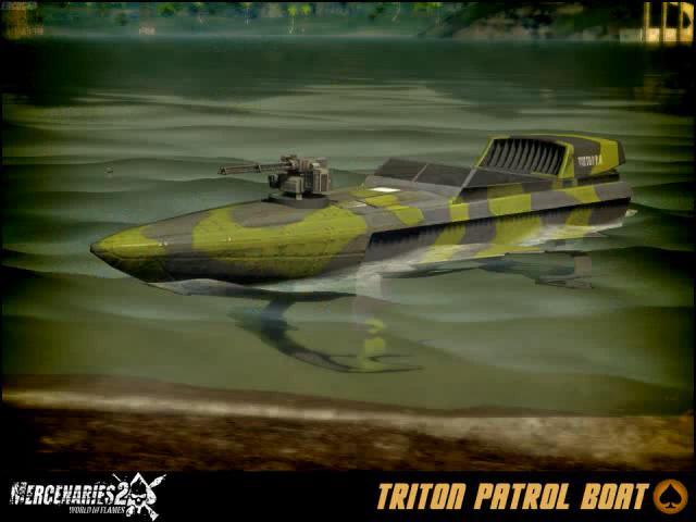 Triton Patrol Boat