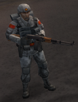 Chinese heavy soldier