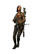 Jennifer mercenaries 2 assault rifle