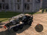 Armored Tiger MLRS Rear Quarter