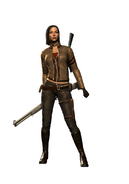 Jennifer mercenaries 2 shotgun