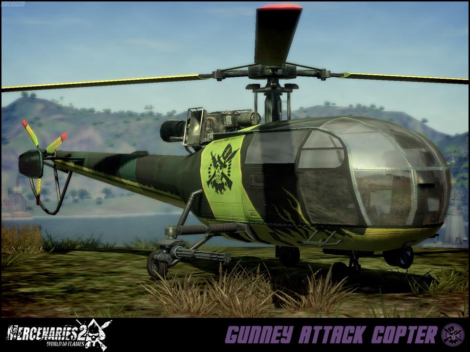 Gunney Attack Copter