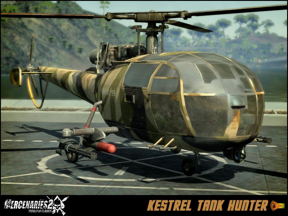 Kestrel Tank Hunter