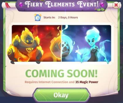Fiery Elements Event