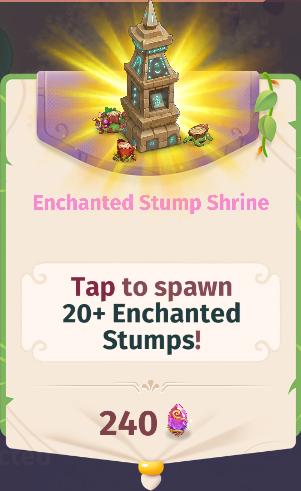 Enchanted Stump Shrine