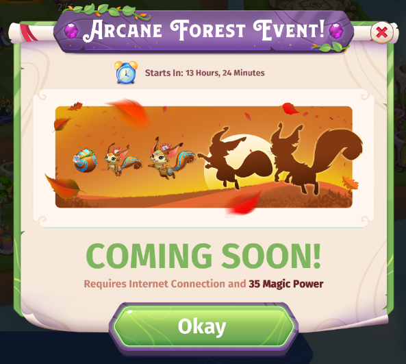 Arcane Forest Event