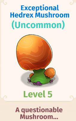 Exceptional Hedrex Mushroom