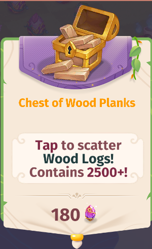 Chest of Wood Planks