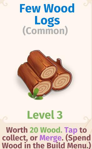 Few Wood Logs