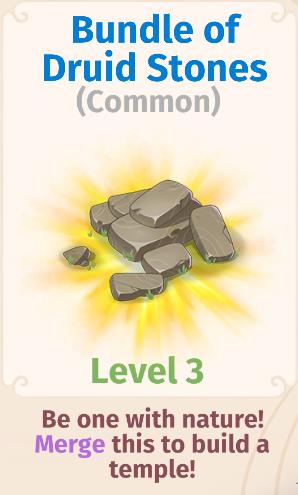 Bundle of Druid Stones