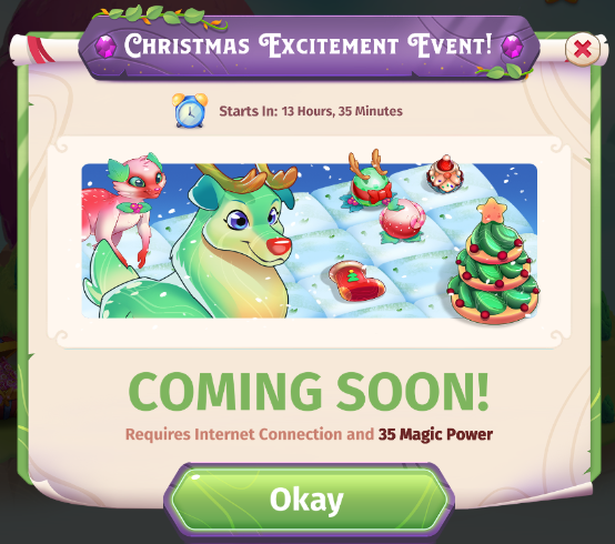 Christmas Excitement Event