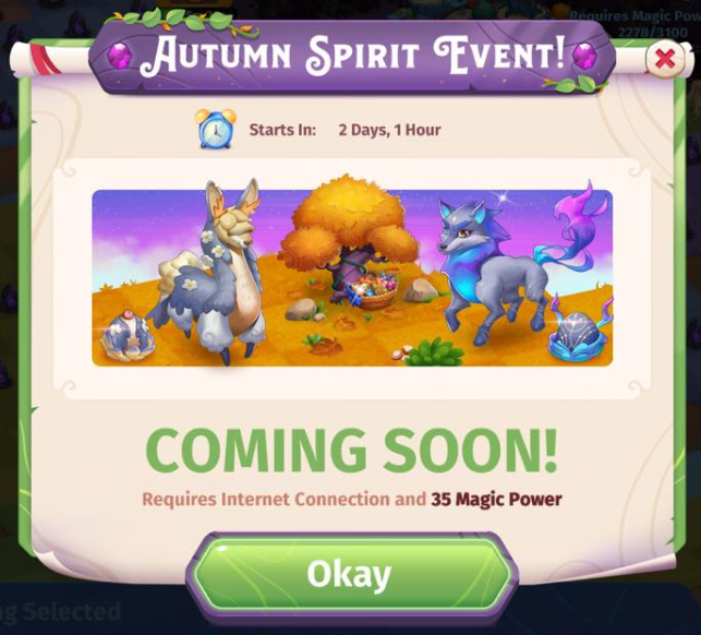 Autumn Spirit Event