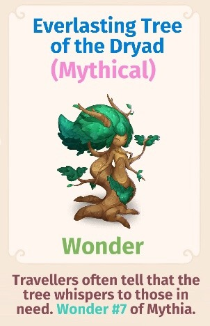 Everlasting Tree of the Dryad