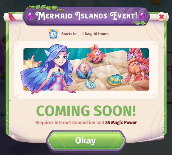 Mermaid Islands Event
