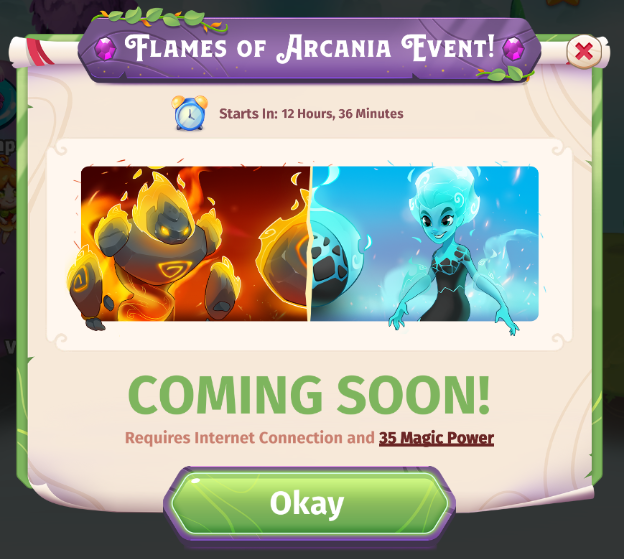Flames of Arcania Event