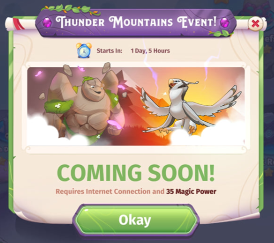 Thunder Mountains Event