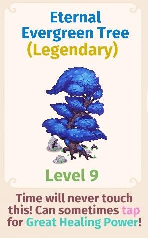 Eternal Evergreen Tree