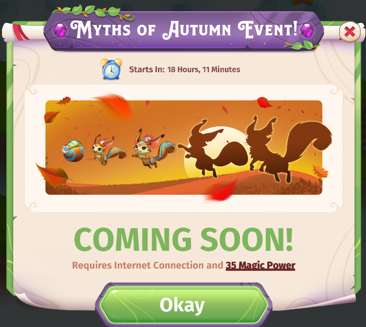 Myths of Autumn Event