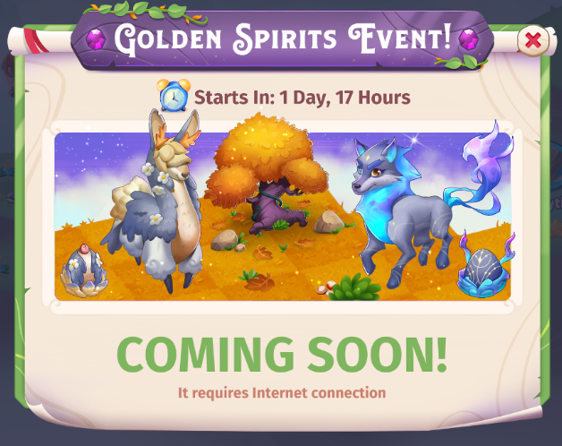 Golden Spirits Event