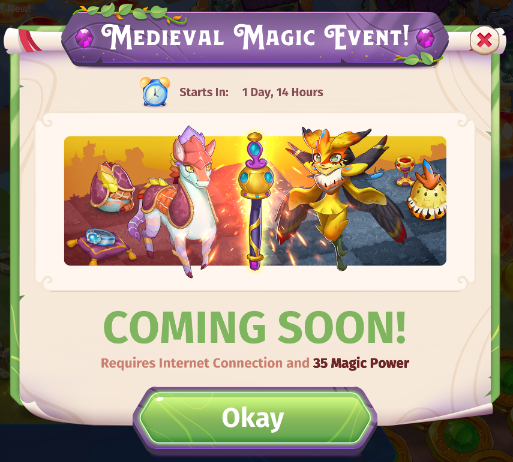 Medieval Magic Event
