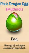 6 - Pixie Dragon Egg