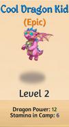 3 - Cool Dragon Kid