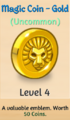 Magic Coin - Gold